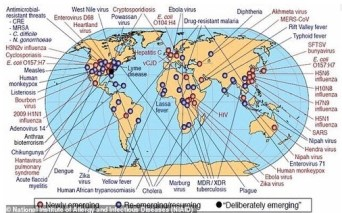 NWO GLOBAL DISEASE DEPOPULATION PLAN MAP