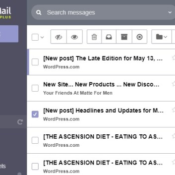 PROTONMAIL PUTS MY OWN SITE AND WORDPRESS IN SPAM 14MAY2020