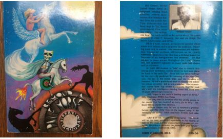 BEHOLD A PALE HORSE front and back cover