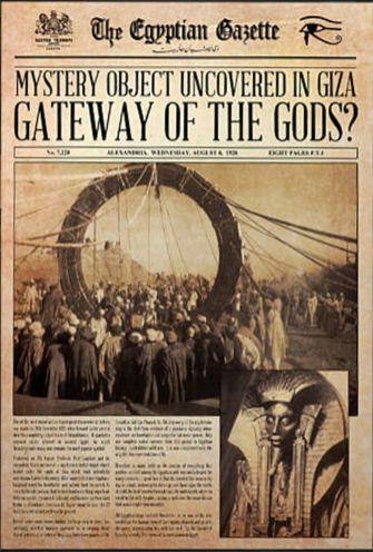Egypt Stargate 1926 Newspaper