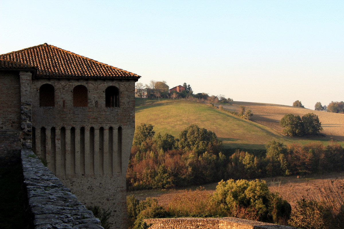 Torrechiara Castle near Parma  Eating With Ziggy