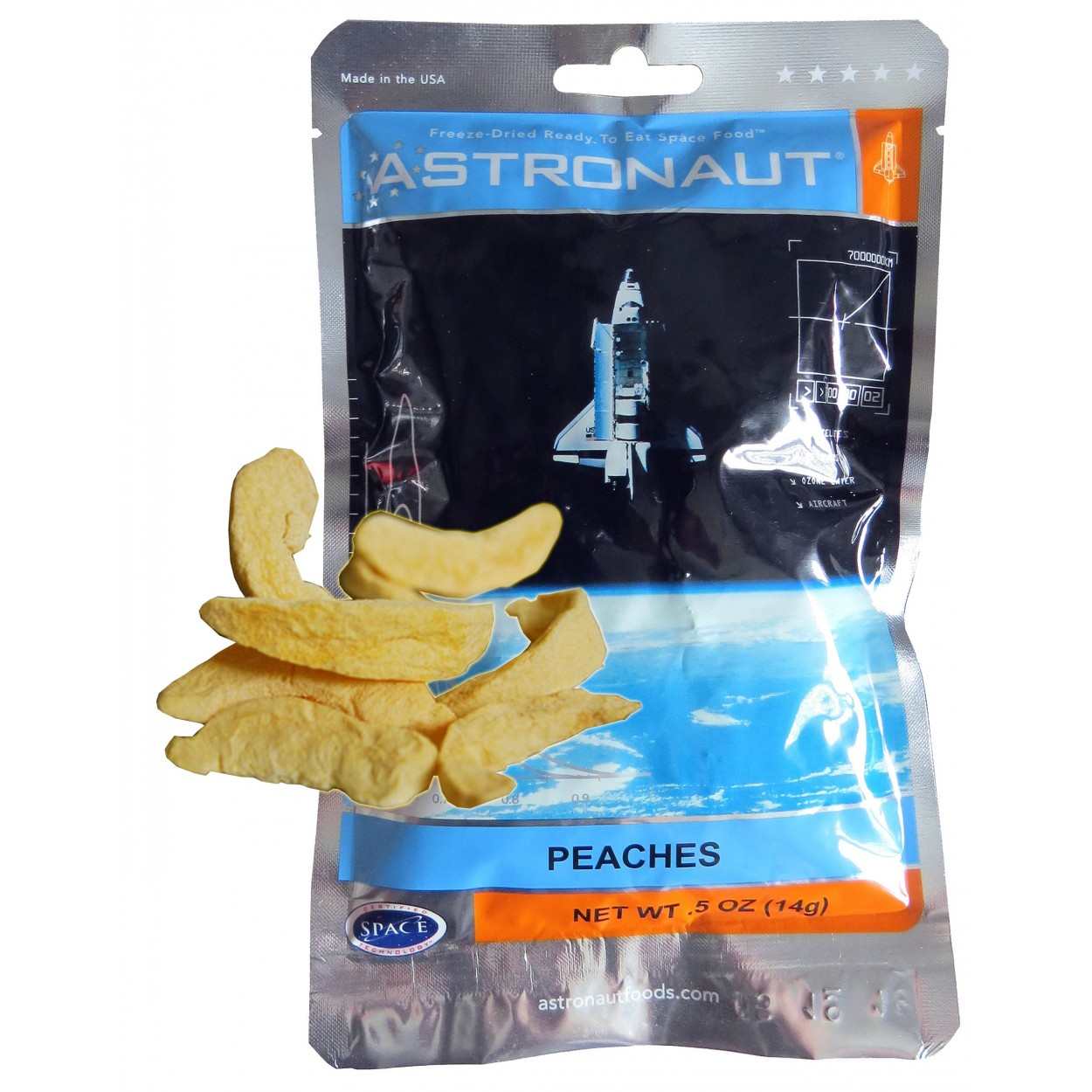 Comida de astronauta: você também vai comer