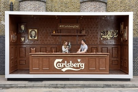 innovative carlsberg Easter eggs