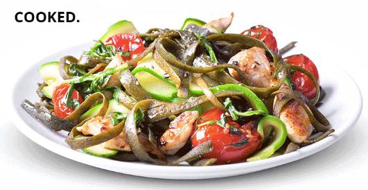 Sea spaghetti: nutritious and healthy innovation