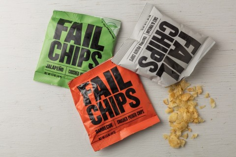 Fail Chips: wrong potato chips have become deliciously certain