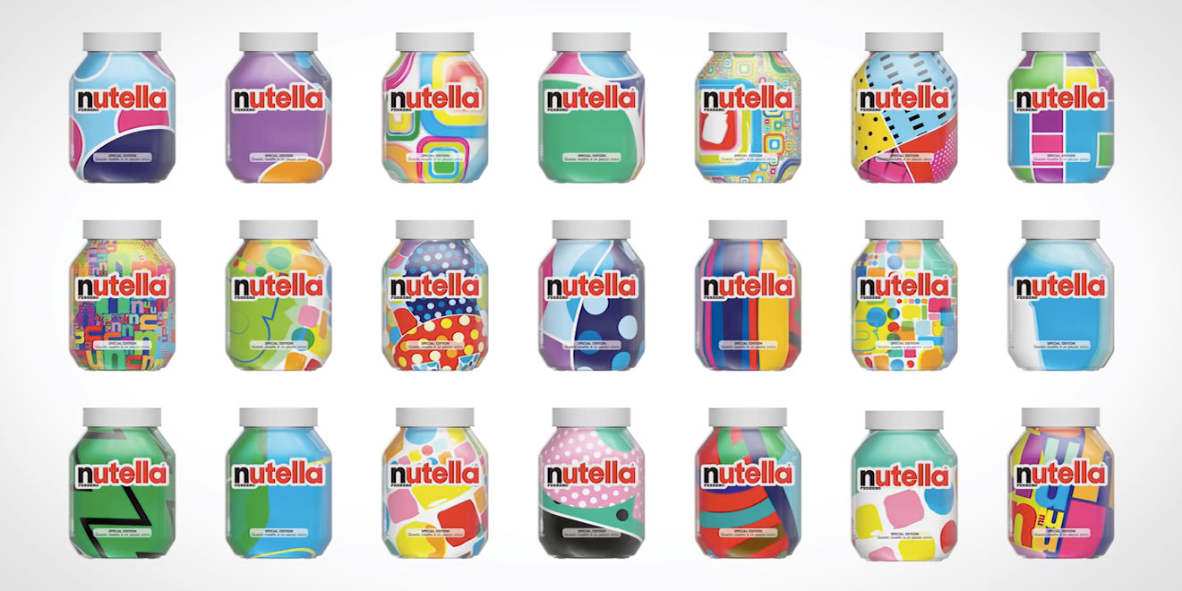 Ultra personalizados: como a Nutella está lucrando com produtos únicos