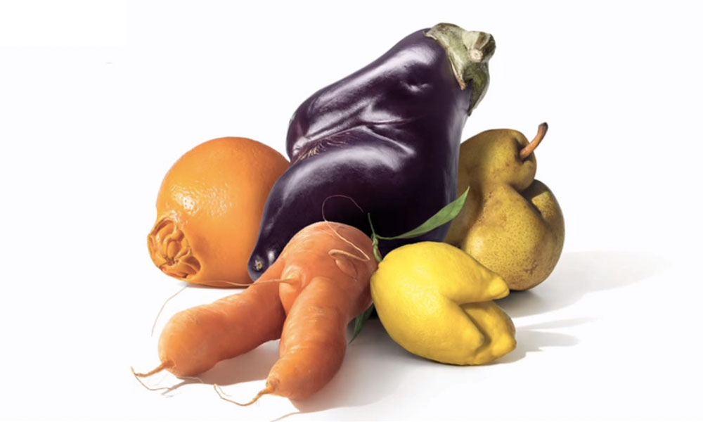 Ugly vegetables and fruits: why you should consume?