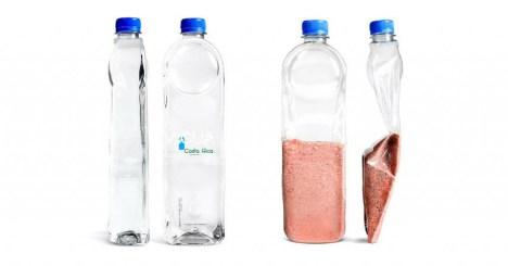 As garrafas de plástico que viraram um telhado