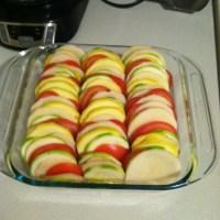 "Tomato, Potatoe,Zucchini, Summer Squash ""Casserole"""