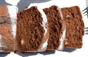 Schokoladen-Nusskuchen