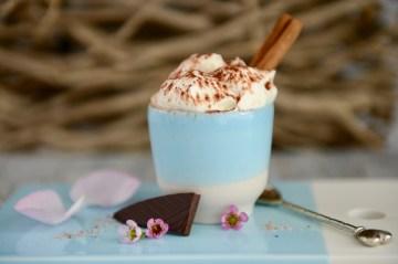 Warme Zimt-Schokolade