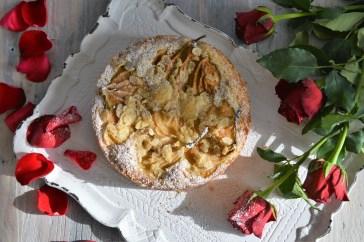 Birnen-Mürbeteigkuchen
