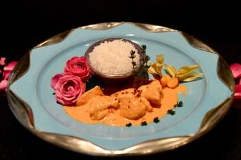 Poulet an Indien-Buttersauce