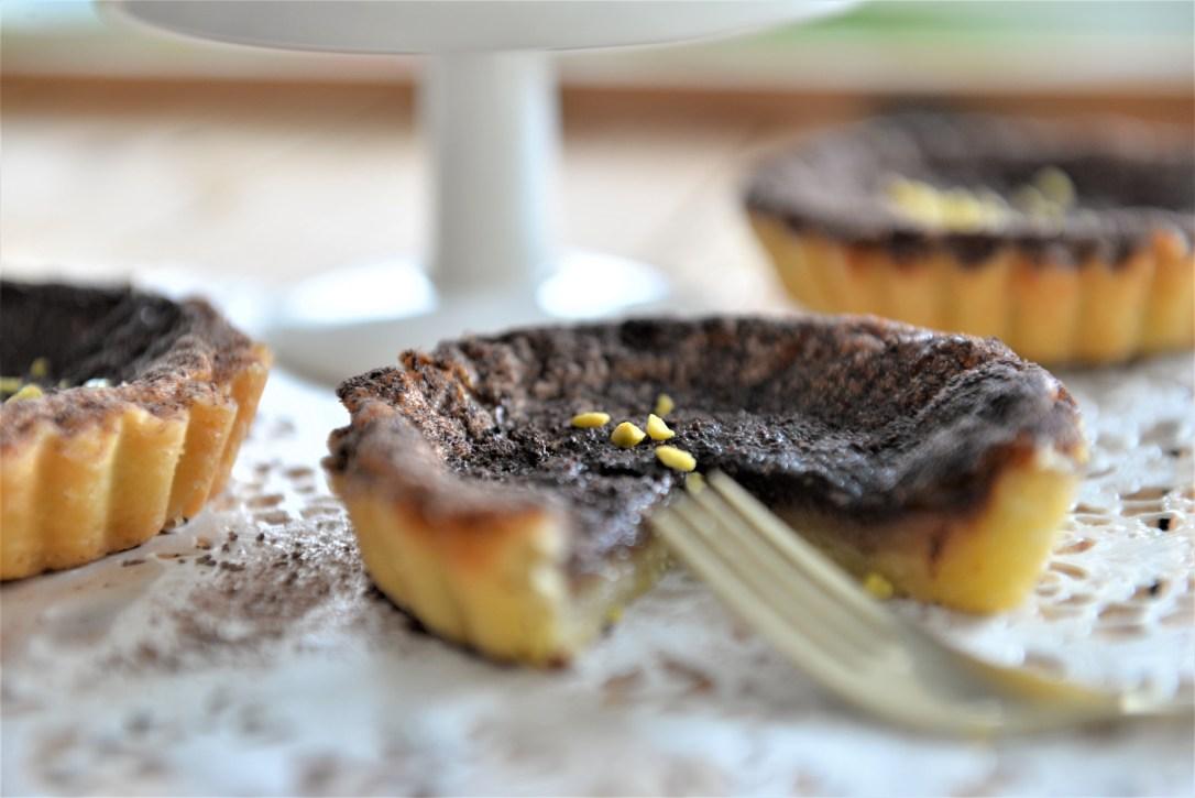 Tartelettes mit Schokolade, Schokoladenküchlein
