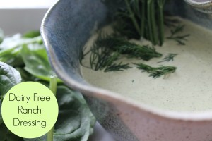 Diary Free Ranch Dressing