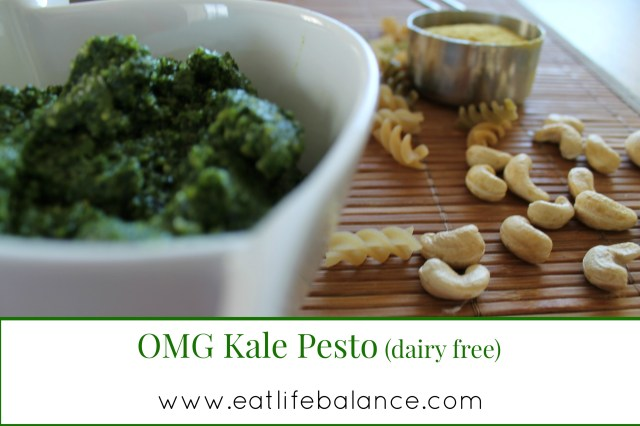 Title-OMG Kale Pesto