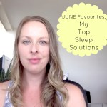 {VIDEO} My Top Sleep Solutions