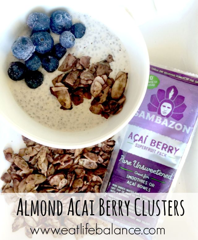 Almond Acai Berry Clusters