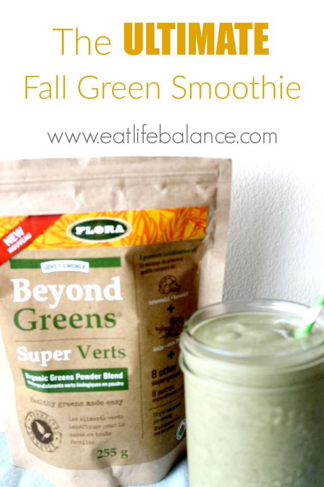 The Ultimate Fall Green Smoothie