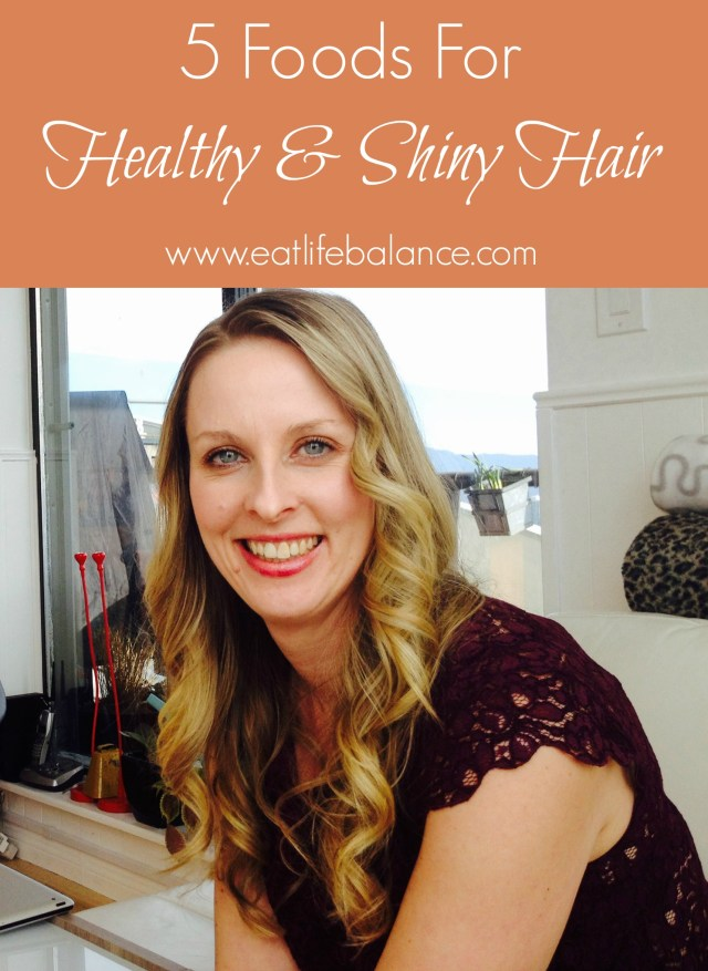 Healthy Shiny Hair