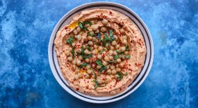 Lemon and Chickpea Taramasalata (Gluten Free and Dairy Free)