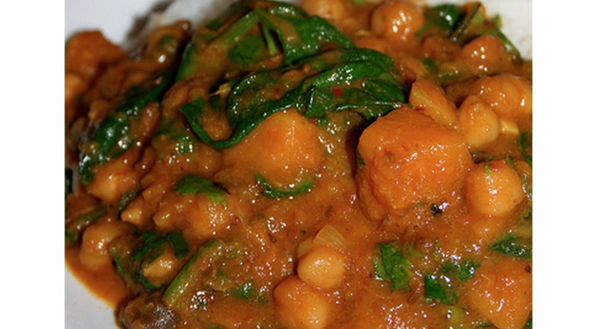 Butternut Squash Chickpea And Spinach Curry Eat Like A Girl