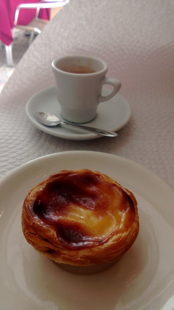 Pasteis de Nata and a coffee at Confeteria Nacionale