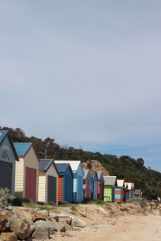 Beach huts atDromana, Mornington Peninsula