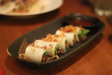 House of Ho, Pho Cuon Cold Rice Noodle Rolls