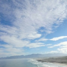 The beach near Grootbos in Overberg