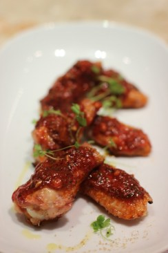 Chicken wings with mojo picón