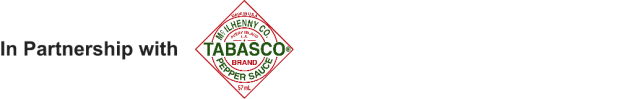 In Partnership With Tabasco Badge