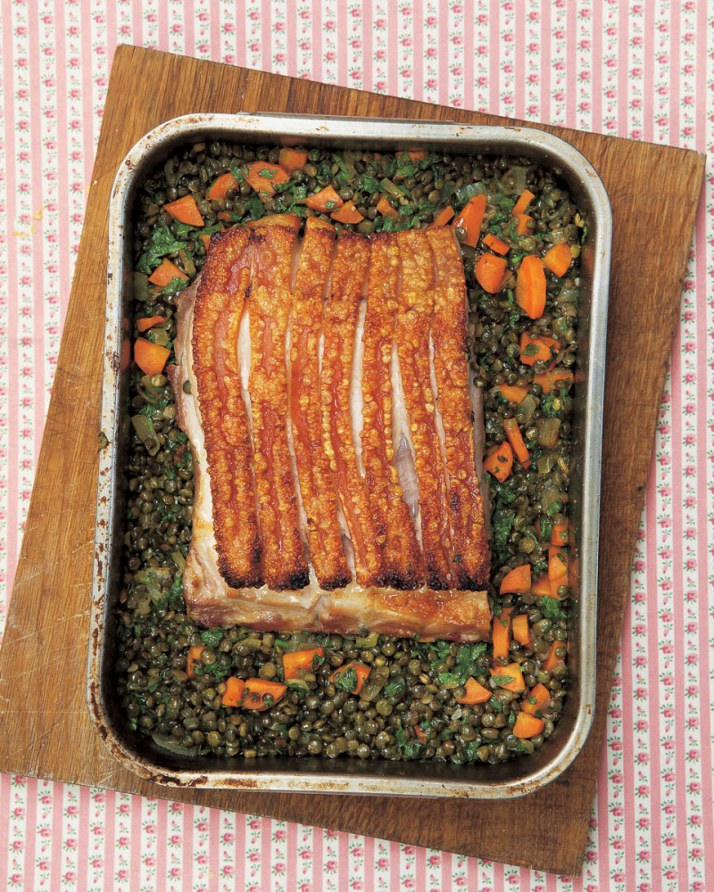 Two and Six Hour Roast Pork Belly