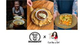 Come Eat My Food at Homeboy in Islington this Weekend! (Thurs – Sat)