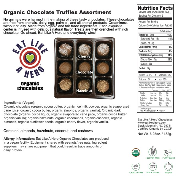 Label - Nutrition Facts