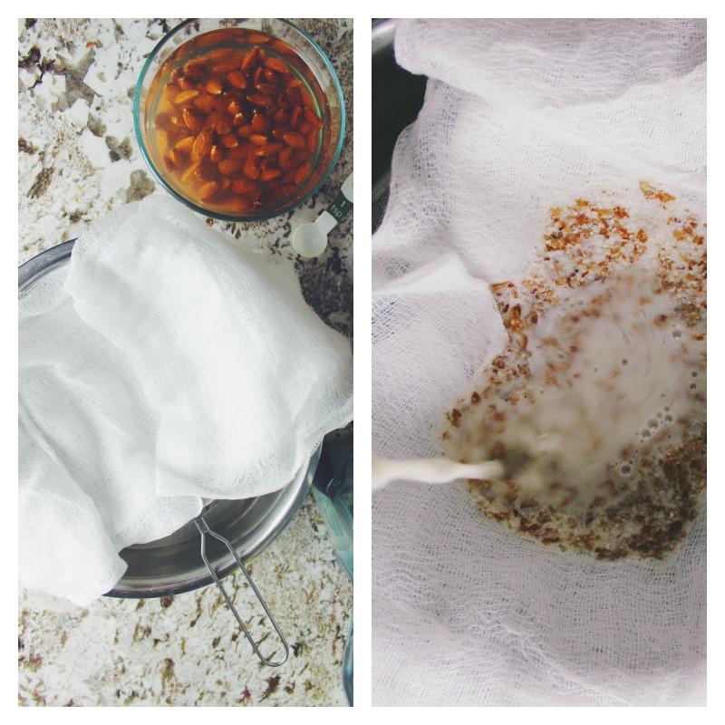 Easy homemade almond milk recipe