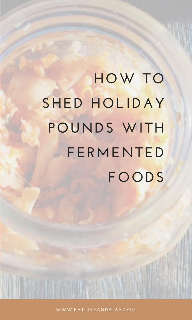 One of the best kept secrets for burning fat and boosting your metabolism is by keeping your gut flora healthy with naturally fermented foods.