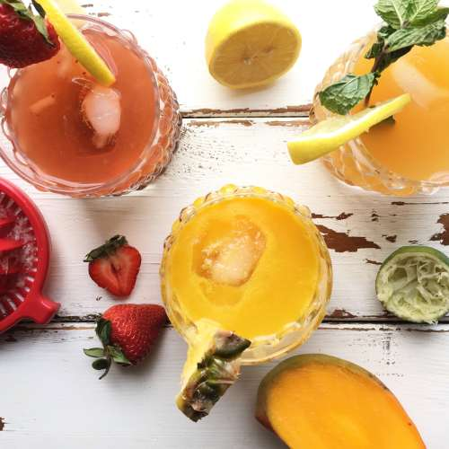 These 3 healthy summer cocktails are refreshing, full of antioxidants, and are quick to whip up!
