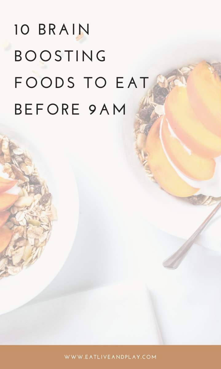 Wondering what to eat for breakfast? The foods you eat in the morning can play a role in helping you to have more energy and greater mental focus. Here are the best brain boosting foods to eat before 9am.