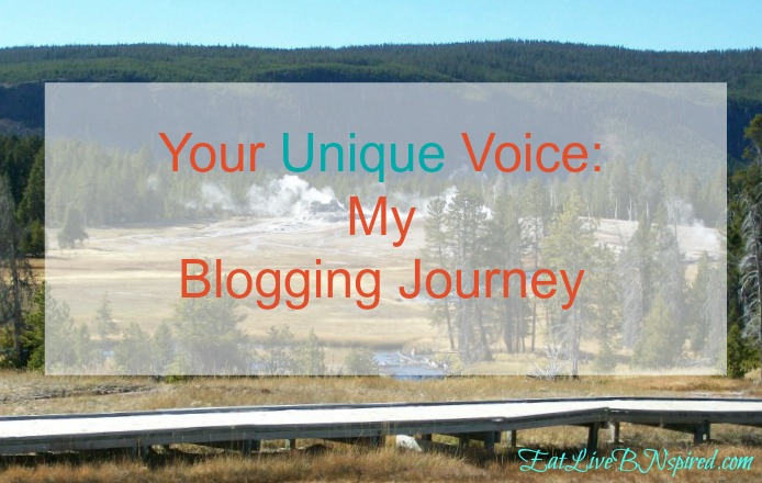 All of us have our own unique voice and journey. The outcome of the path we travel is not always certain. This is my story, my blogging journey.