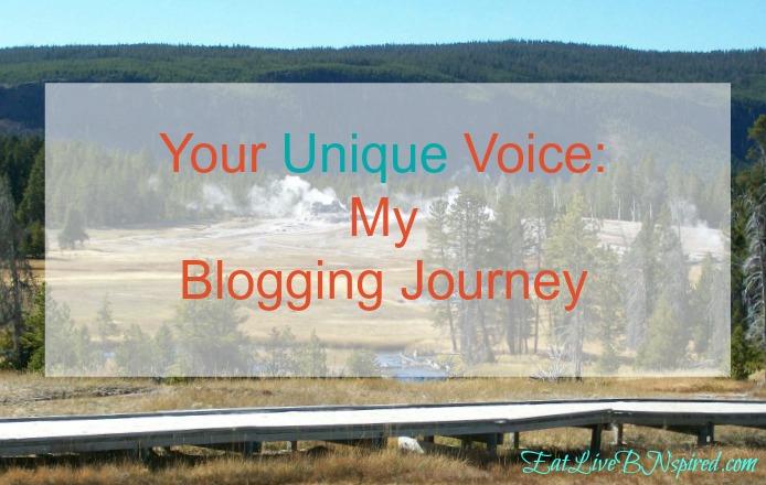 Your Unique Voice:  My Blogging Journey