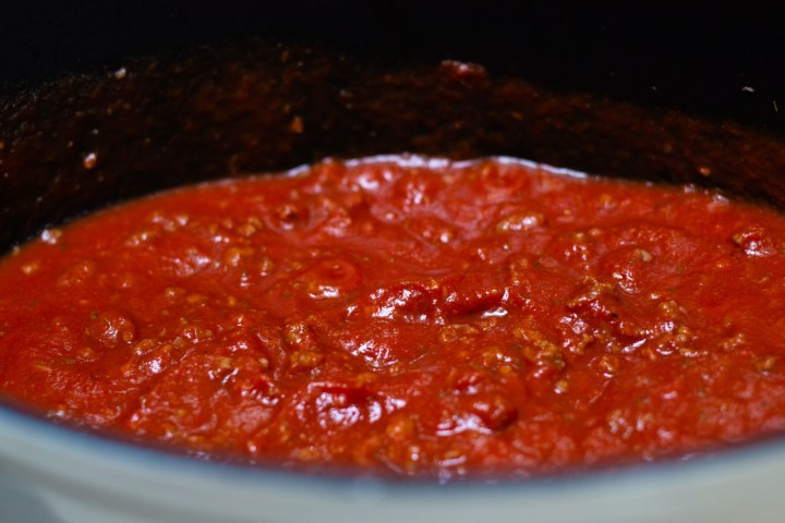 Red Meat Sauce