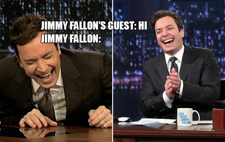 Jimmy Fallons Annoying Fake Laughter