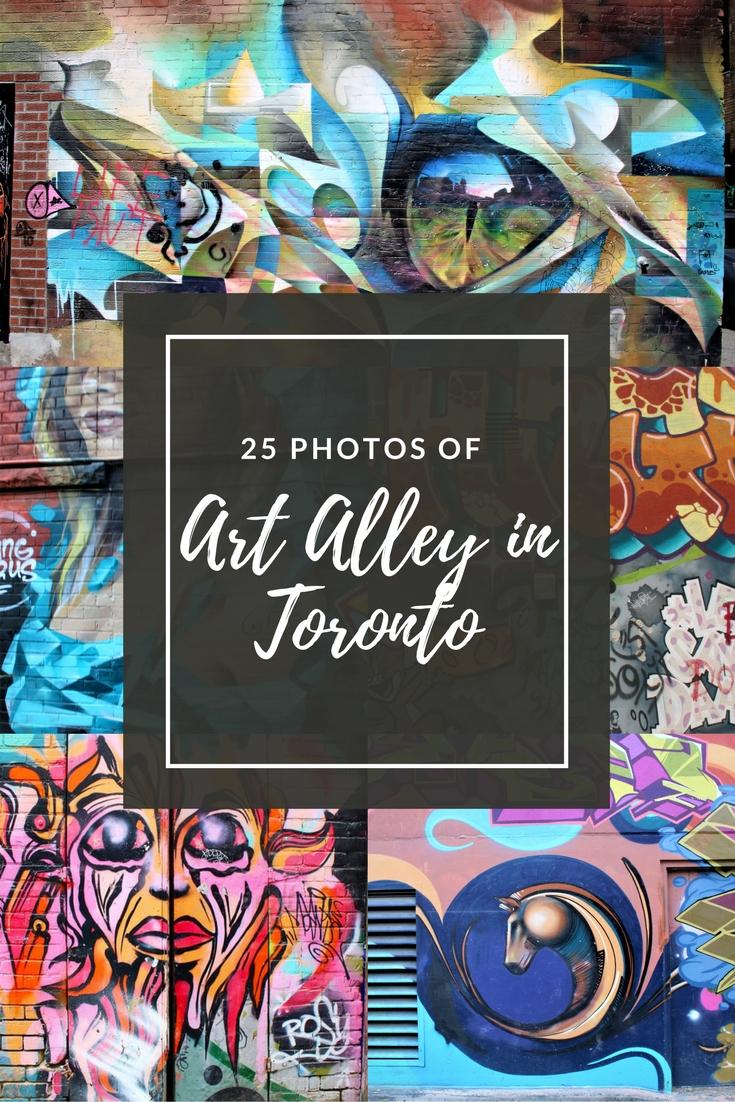 Art alley toronto Canada
