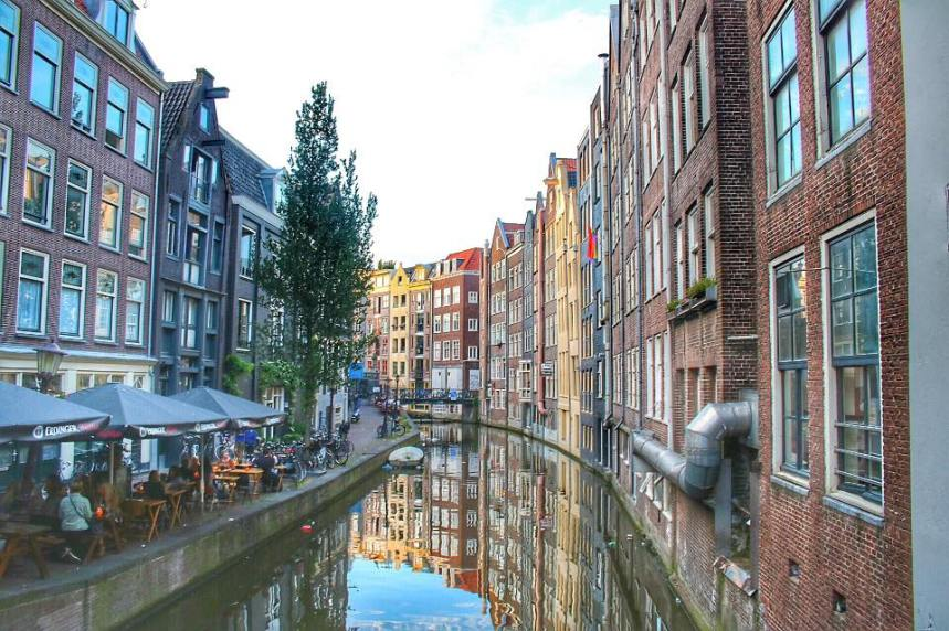 More canals and cafes