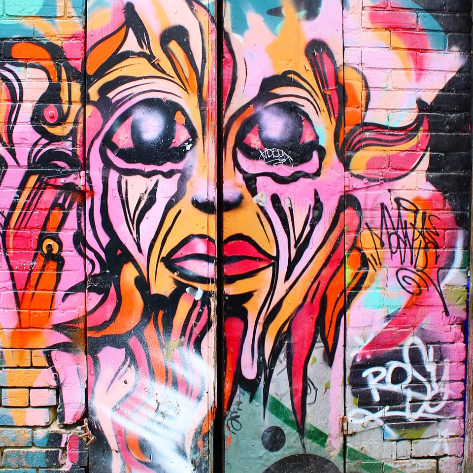 Exploring Art Alley In Toronto, Canada