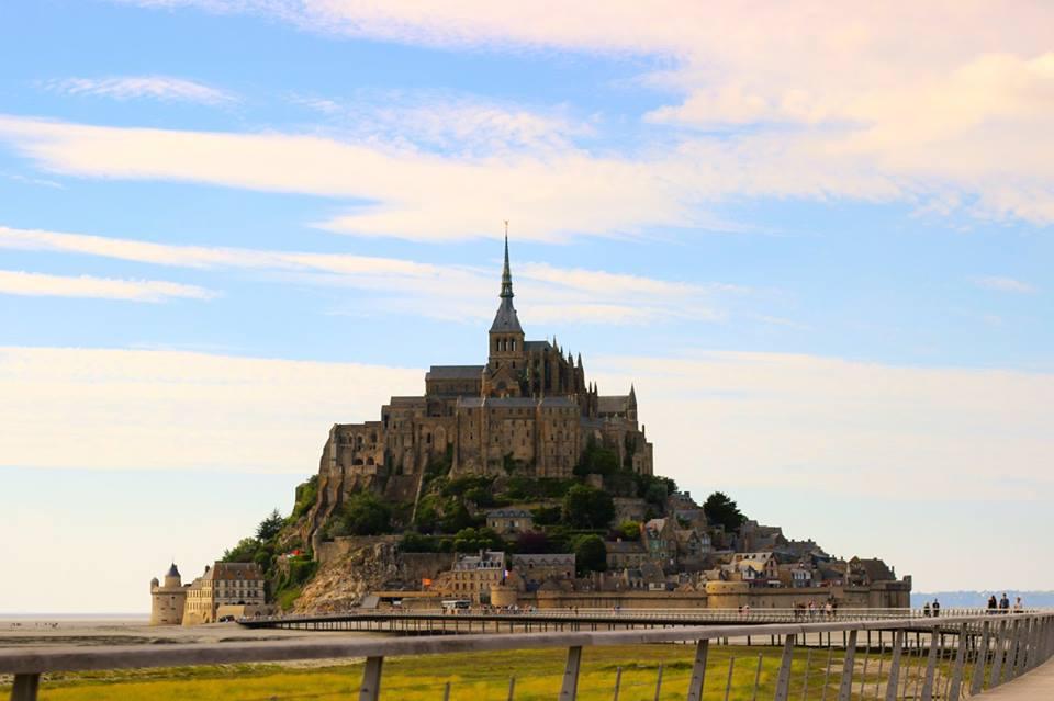 European bucket list. Visiting Mont Saint-Michel in France.