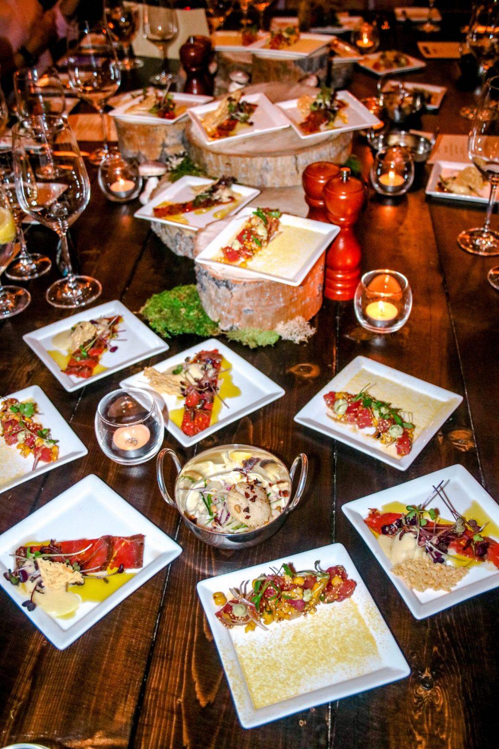 Four Season's Rancho Encantado's Terra Restaurant