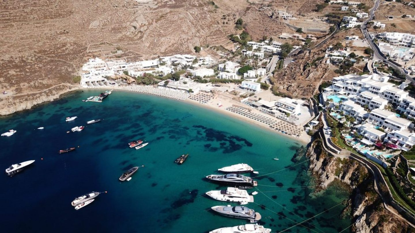 These are the very BEST beaches in Mykonos. Plan to visit Paradise Beach.