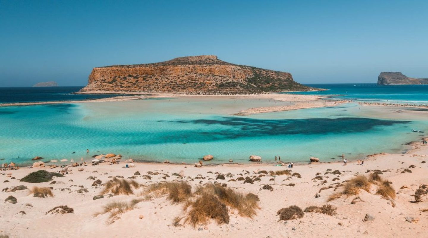 balos bech - one of the best beaches in crete